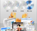 Express Burn Plus CD and DVD Burner Скриншот 0