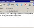 Winpopup NET messenger Скриншот 0