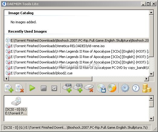 Скачать daemon tools lite для windows.