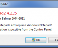 Notepad2 Скриншот 1