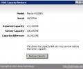 HDD Capacity Restore Скриншот 0