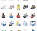 Professional Vista Software Icons Скриншот 0