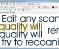 Scanned Text Editor Скриншот 0