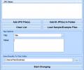 JPG Edit EXIF Data In Multiple Files Software Скриншот 0