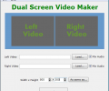 Dual Screen Video Maker Скриншот 0